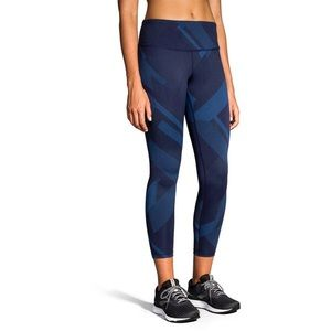 NWT Brooks formation crop leggings